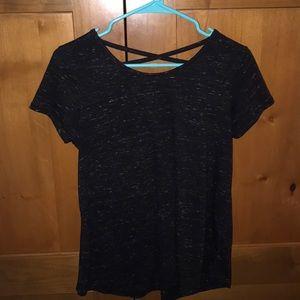 SO Tops - So Cross Back T-Shirt